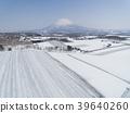 從二世谷東山看的Yotei山鳥瞰圖 39640260