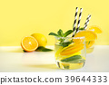lemonade, orange, lemon 39644333