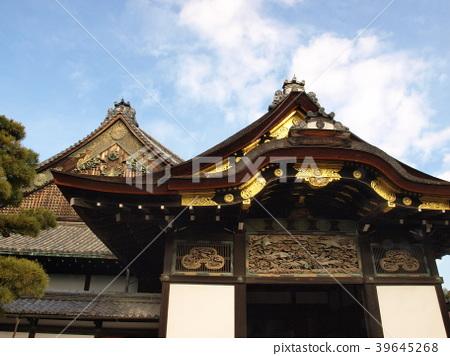 "World Heritage Site ""Ninomaru Gotennari-no-Yojo and Tosen"" in Nijo Castle, Kyoto 39645268"