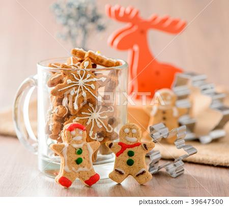 Gingerbread Gingerbread Man Reindeer Elk Christmas Christmas