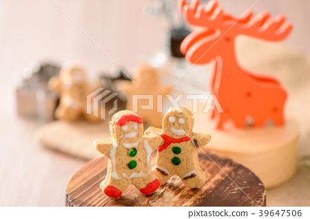聖誕薑餅聖誕薑餅聖誕馴鹿 39647506