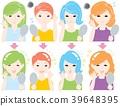 female, lady, woman 39648395