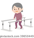 gait training, rehabilitation, senior 39650449
