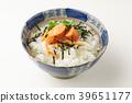 茶泡饭 家常鳕鱼的鱼子 食物 39651177