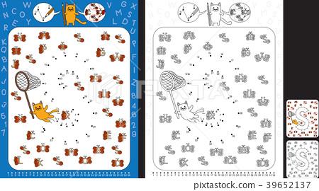 Preschool Worksheet Stock Illustration 39652137 Pixta