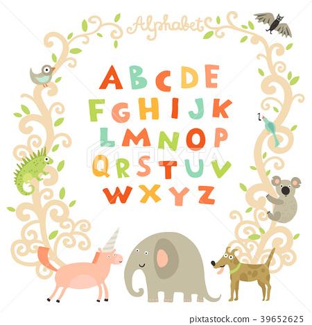 Complete Children Alphabet  39652625
