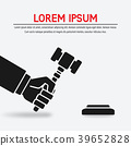 judge, hand, hammer 39652828