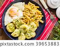 egg potato cooking 39653883