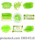 set logo watercolor 39654516