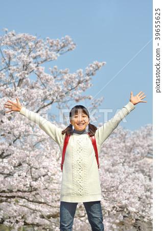 6 학년 여자 (벚꽃 졸업 캐주얼) 39655625