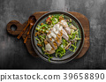 Waldorf salad with grilled chicken 39658890
