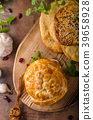 Puff pastry stuffed by camembert 39658928