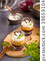 Cheesecake in glass 39659104