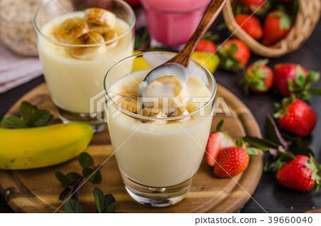 Banana puddink photo 39660040