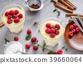 pudding milk cream 39660064