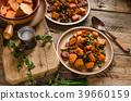Sweet potato pan vegetable 39660159
