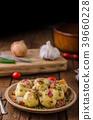 Bacon dumplings delish food 39660228
