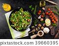 Lamb's lettuce salad 39660395