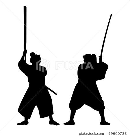 武藏和小次郎圖像輪廓 39660728