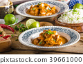 Curry chicken with rice 39661000