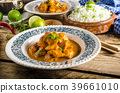 Curry chicken with rice 39661010
