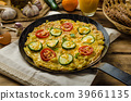Vegetable frittata 39661135