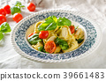 Tortellini stuffed with meat 39661483