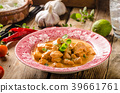 Chicken curry with herbs 39661761