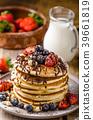 pancakes, pancake, breakfast 39661819