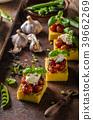 polenta grilled tomato 39662269