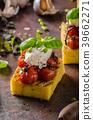 polenta grilled tomato 39662271