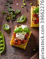 polenta grilled tomato 39662276