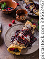 Delicious crepes with forest fruit 39662467
