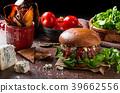 burger cheese blue 39662556