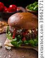 burger cheese blue 39662571