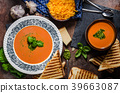 Roasted tomato soup 39663087