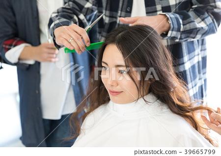 Hairdresser practice hairdresser practice vocational school 39665799