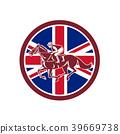 British Jockey Horse Racing Union Jack Flag 39669738