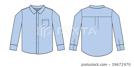 襯衫 長袖 y-襯衫 39672970