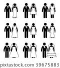 wedding, couple, marriage 39675883