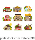 building, vector, house 39677699