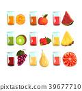 juice vector fruit 39677710