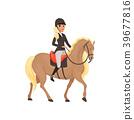 horse jockey equestrian 39677816