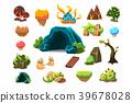 design, cave, tree 39678028
