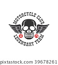 logo, motorcycle, sign 39678261