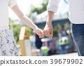約會在遊樂園的夫婦 39679902