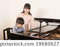피아노 선생님과 학생 39680627
