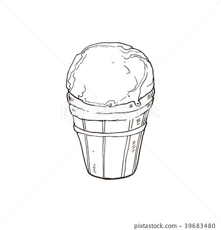 ice cream vector 39683480