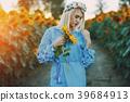 sunflower yellow field 39684913
