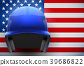 flag, USA, helmet 39686822